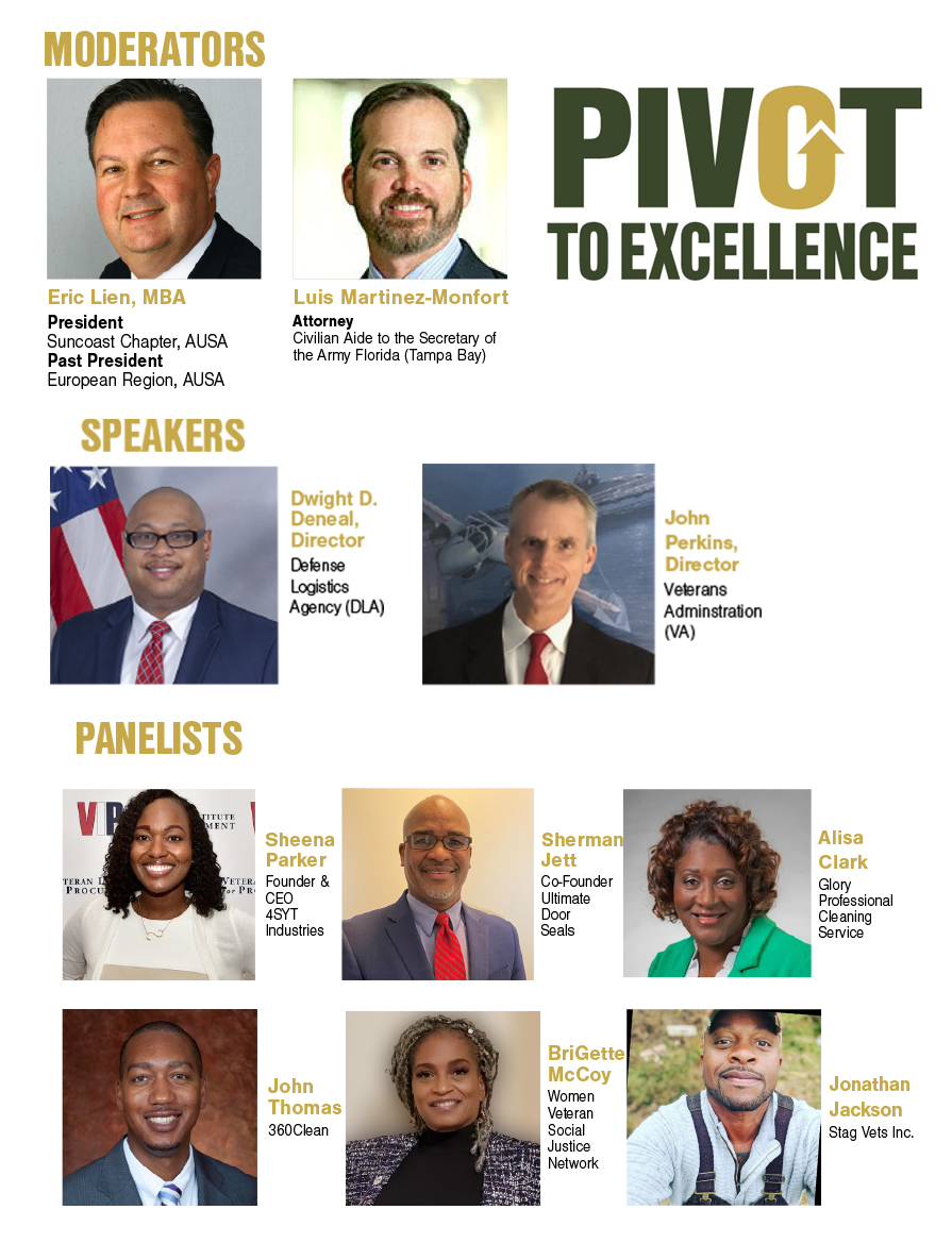 PIVOT TO EXCELLENCE Speakers